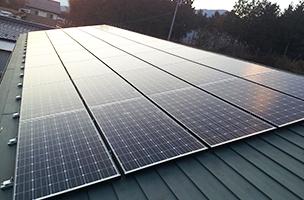 太陽光パネル設置